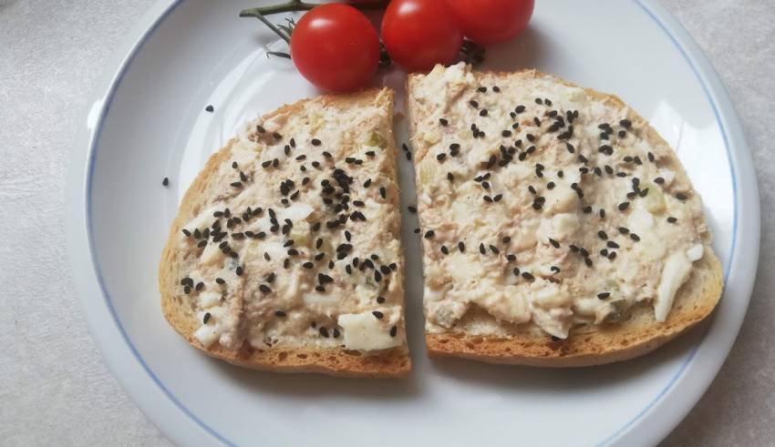 pasta kanapkowa z tunczyka