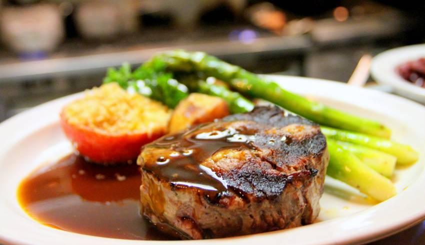 dieta ketogeniczna stek