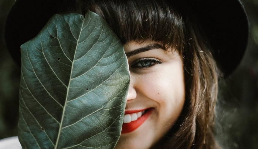 kobieta usmiech