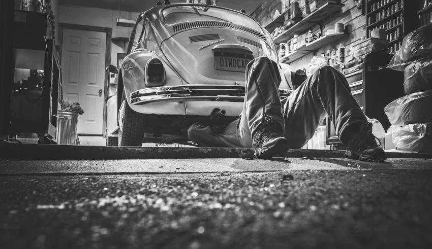 wilgoć w garażu